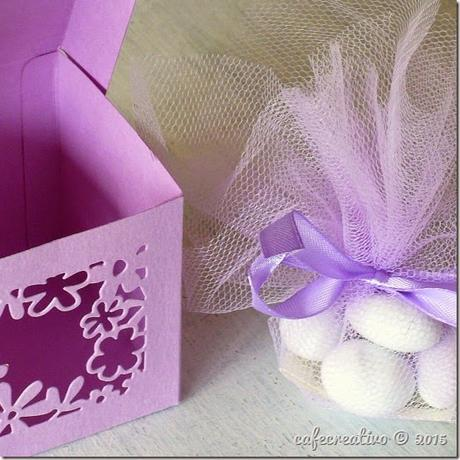 cafe creativo - sizzix big shot plus starter kit - favor box - scatolina bomboniera - tutorial