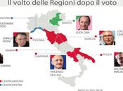 Elezioni Regionali, cinque regioni sette. Crollo dell'affluenza