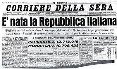 La festa della Repubblica