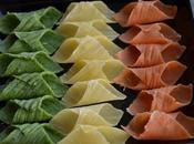 Garganelli tricolori L'Italia piatto