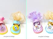 Scarpine portaconfetti (paper baby shoes)