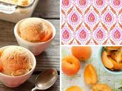 Gelato all'albicocca Apricot ice-cream