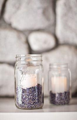 decorazione matrimonio lavanda 3