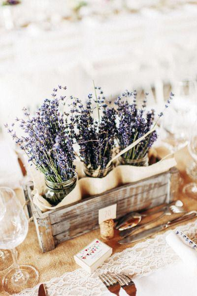 decorazione matrimonio lavanda 4