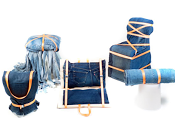 "Sicilia Outlet Village: Eco-Design ""Made Sicilia"" Denim Chairs"