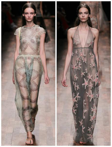 SS 2015 fashion trends: cuts and see through