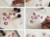 Dipingere ciliegie...tutorial veloce