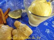 Gelato crema, zenzero cannella