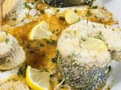 Filetto branzino forno Oven-baked bass fillet