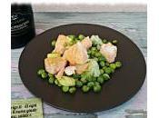 Salmone piselli: ricetta veloce idee menu giusto
