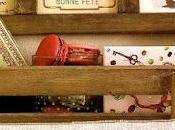 Copri mensola dispensa stile francese
