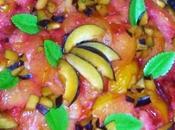 Torta rovesciata prugne fresche