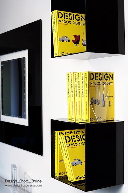 Cubi mensole per arredamento praticit e design moderno for Cubi mensole