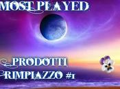Most played prodotti rimpiazzo