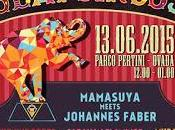 MAMASUYA Live Beat Circus @Parco Pertini, Ovada