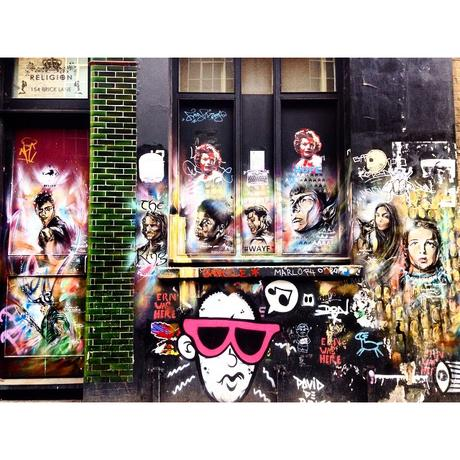 Find your fav fictional character in Shoreditch…