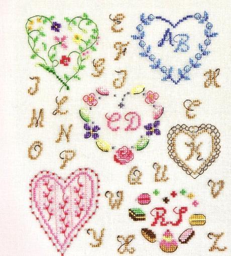 Bomboniere Matrimonio Punto Croce Schemi.Delicate Bomboniere A Punto Croce Paperblog