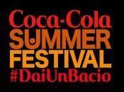 Coca-Cola SUMMER FESTIVAL! artisti italiani internazionali momento giugno palco Piazza Popolo Roma.
