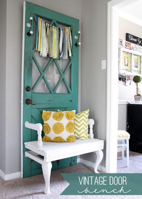 Idee fai da te per riciclare vecchie porte paperblog for Spranga per porta fai da te