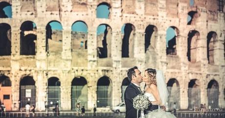 Un Amore eterno celebrato nella città eterna dall'eternità della fotografia
