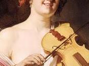 Suonatrice violino Gherardo delle Notti