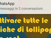 [Guida] Come disattivare notifiche comparsa android lollipop senza root