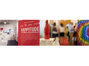 Coca cola inaugura mostra #happytude guardare cose modo diverso