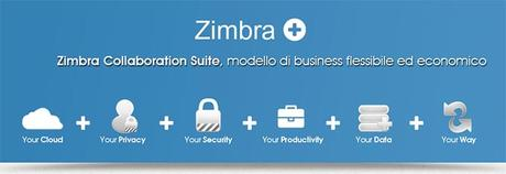 Zimbra, il web client open source di posta elettronica evoluta