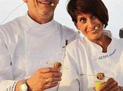 Chef Commis Zuppa cruda insalata polpettine divitello nocciole mirtilli #riccionegolosa #uir #saporie