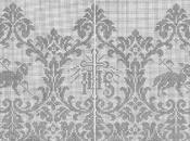 Schemi gratis filet: Bordura altare filet_2