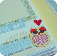 18 - sizzix craft asylum - big shot - scrapbooking mini album - fustelle