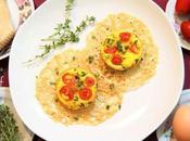 """Frittata """"brunch"""" parmigiano reggiano,pomodorini timo fiorito #PRChef2015"""