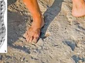 Impronte calzature romane Israele