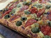 focaccia pomodorini olive