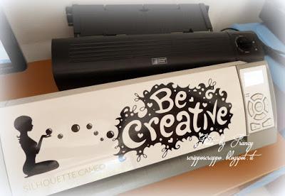 Stencil con silhouette cameo - Paperblog