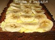 Crostata cacao piccante, crema banane!