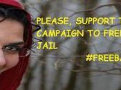 Sostieni campagna #FreeBahareh. battaglia delle donne iraniane