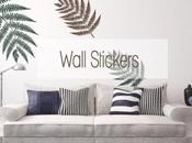 Adesivi murali, nuova concezione dell'home decor