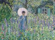 L'estate giardino: poltrona, parasole ovviamente, buon libro!