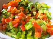 Insalata farro verdure croccanti