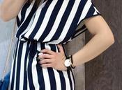 Come indossare righe, trend dell'estate