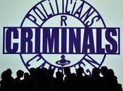 "Vivienne Westwood Milano Moda Uomo: politici sono criminali"""