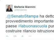 """""""Buona Scuola"""": riforma viene approvata Senato. proteste Movimento Stelle"""