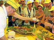 MILANO. porceddu, maialino sardo, presente Padiglione della Coldiretti all'EXPO