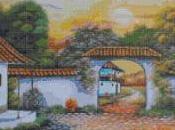 Schema punto croce: Paesaggio_79