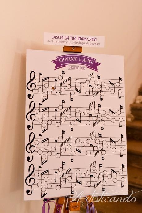 Matrimonio e Musica: Alice e Giovanni!