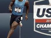 """Gatlin travolgente, 19""""57 metri lancia sfida Bolt"""