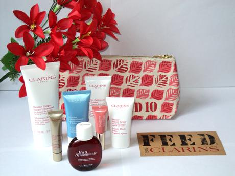 Clarins&FEED – Feed your skin, FEED our planet