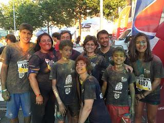 La Color run di Genova ed il team #ilovefarmaciaserra.