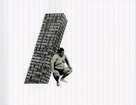 ARTE: I collage su notebook di Raúl Lázaro